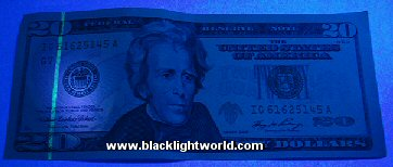 Counterfeit currency detection
